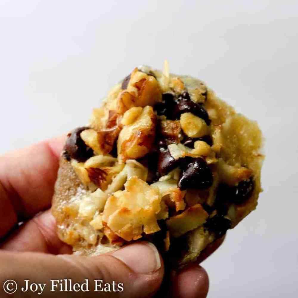 Five Minute Magic Cookies - Low Carb, Grain Gluten Sugar Free, THM S