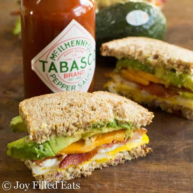 The Loaded Egg Sandwich – THM XO, Low Carb & S Options