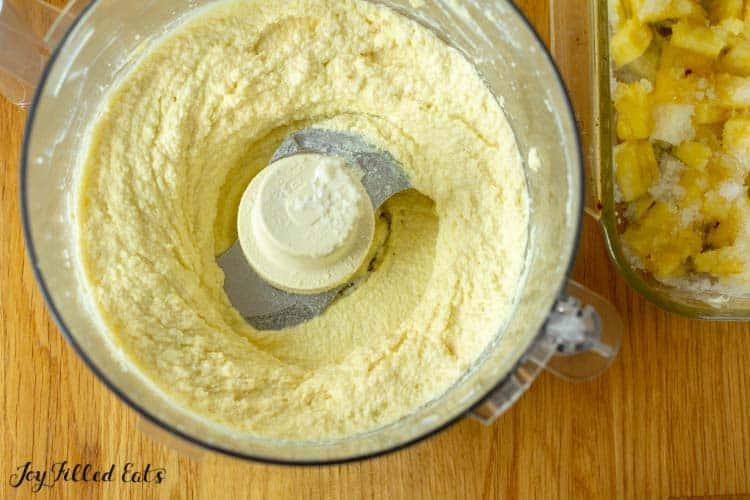 food processor cake batter
