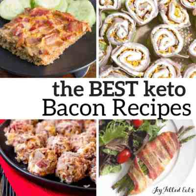 Keto Bacon Recipes – Low Carb Apps Meals & Snacks