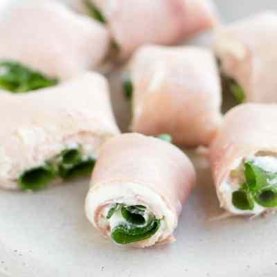Ham Roll Ups – Easy Appetizer Recipe