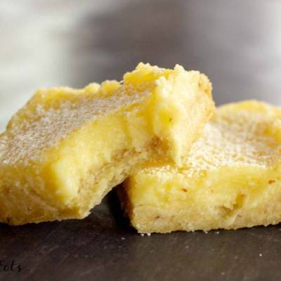 Lemon Squares Recipe – Low Carb, Keto, THM S