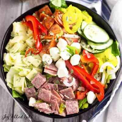 Italian Salad aka Antipasto Salad – Low Carb, Keto