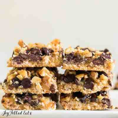 Magic Cookie Bars – Low Carb, Keto, THM S