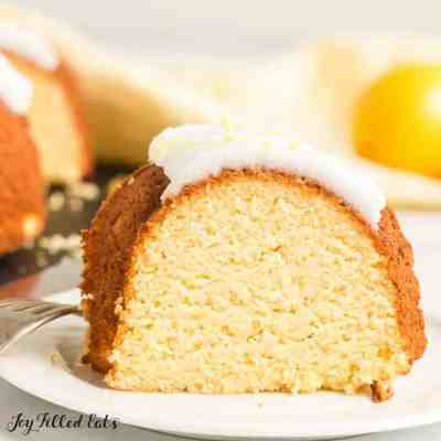 Lemon Drizzle Cake – Low Carb, Keto, Gluten-Free, THM S
