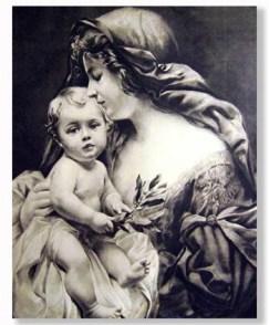 madonna_and_child_black_white