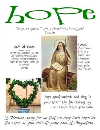 hope  craft page
