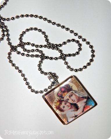 winner marian tile necklace JOY