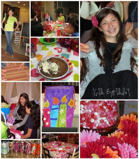 16th bday party
