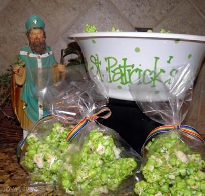 st patrick popcorn bags