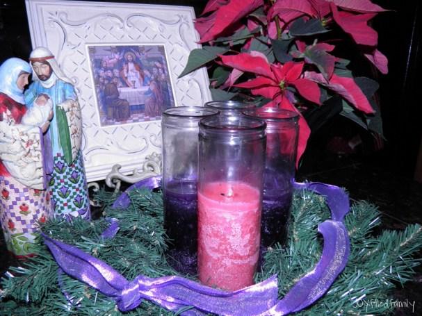 advent wreath week 1
