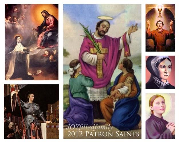 2012 Patron Saints