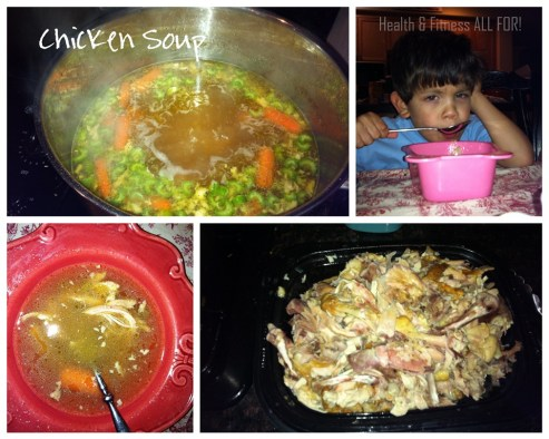 chicken soup collage