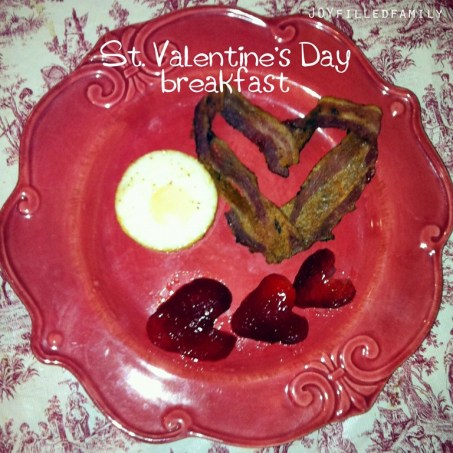 st. valentine breakfast