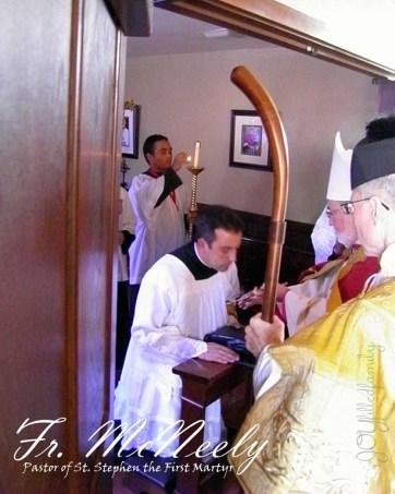 Installation of Fr. McNeely as Pastor JOY