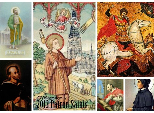 2013 Family Patron Saints