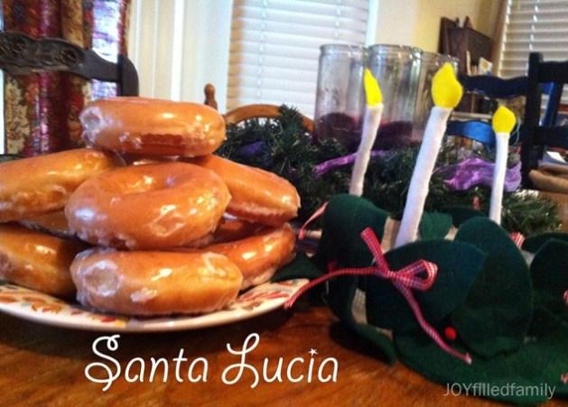 santa lucia feast day treat