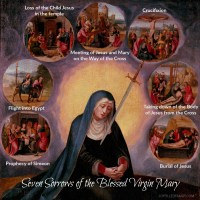 Passion Friday ~ Seven Sorrows of the Blessed Virgin Mary