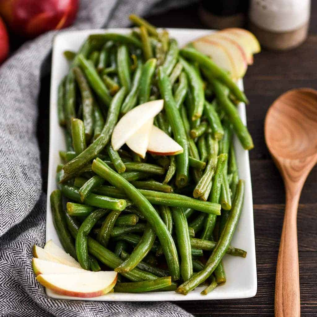 Sauteed Green Bean Recipe With Apple Cider