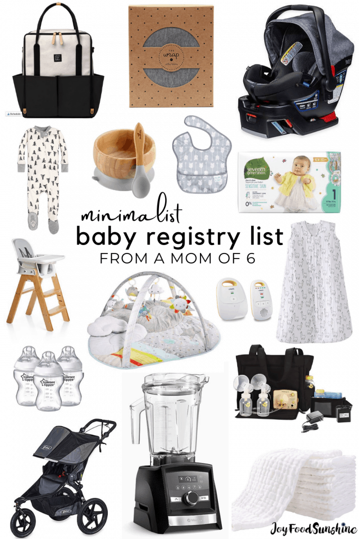Baby Items List With Pictures : items, pictures, Registry, JoyFoodSunshine