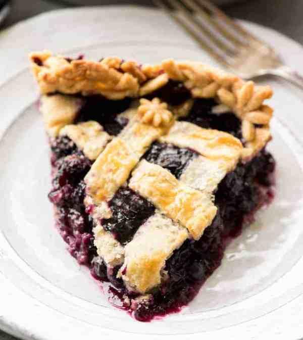 Blueberry Pie Recipe JoyFoodSunshine