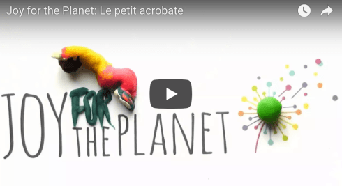 Making-of: la dernière création de Fabienne Baechler pour Joy for the Planet