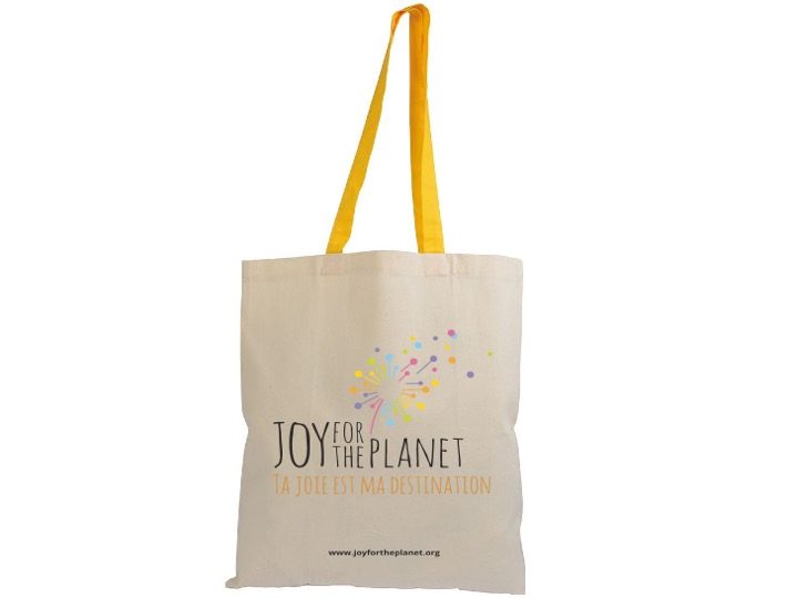Sac Joy for the Planet anse jaune – 30 CHF