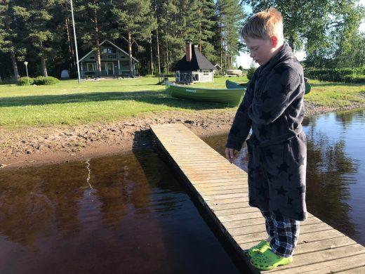 Un petit prince à bord de Begoodee (Finlande)