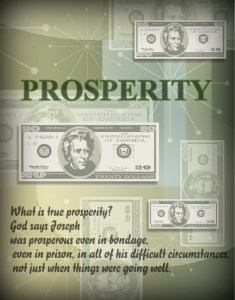 Do you consider yourself a Prosperous Christian?