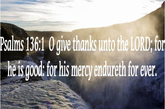 God's Great Mercy Should Bring Our Thanks