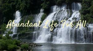 Abundant Life For All