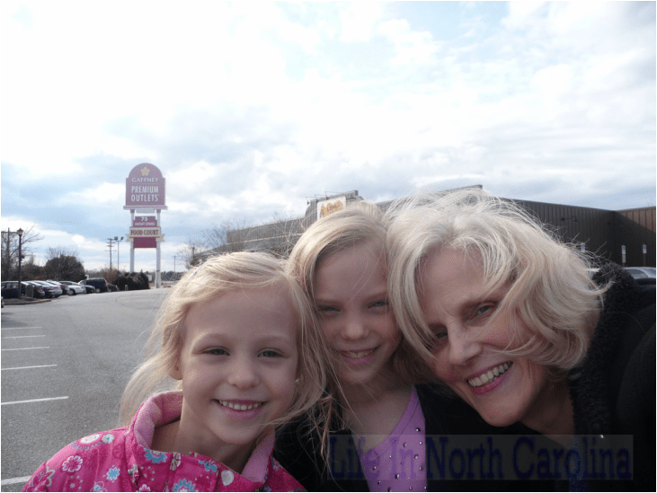 grand daughters family time