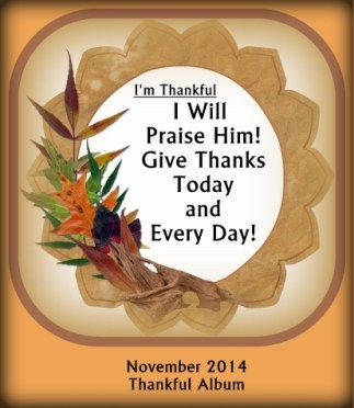 Give Thanks Today and Every Day!