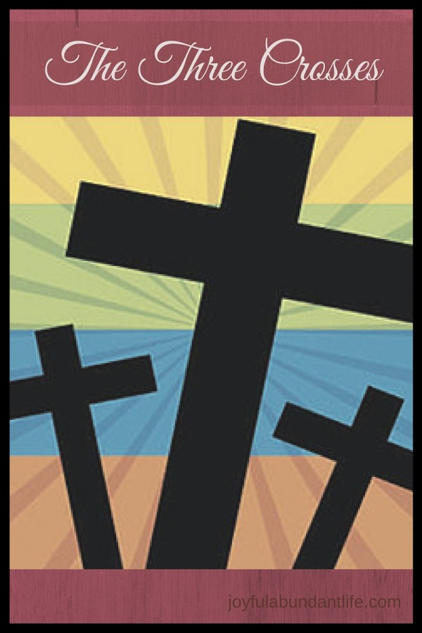 The Three Crosses - You may have heard about Jesus dying on the center cross, but have you ever wondered why there were three crosses that day? What about the other two people?