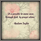 Prayer by Hudson Taylor