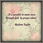 Prayer by Hudson Taylor