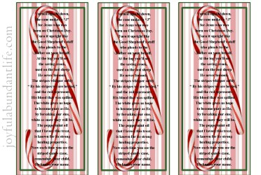 Candy Cane Bookmarks-001