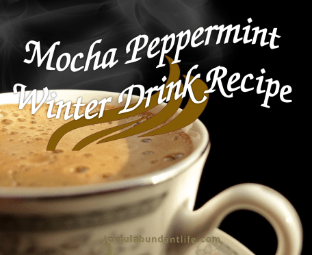 Mocha Peppermint Hot Winter Drink Recipe