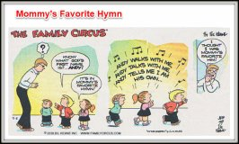 family Circus favorite hymn