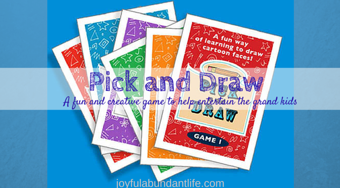 A fun and creative game to help entertain the grand kids