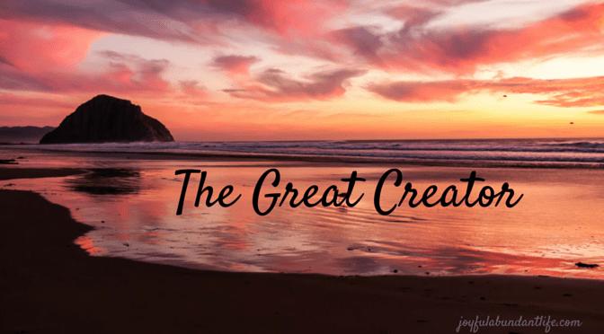 Create – The Great Creator