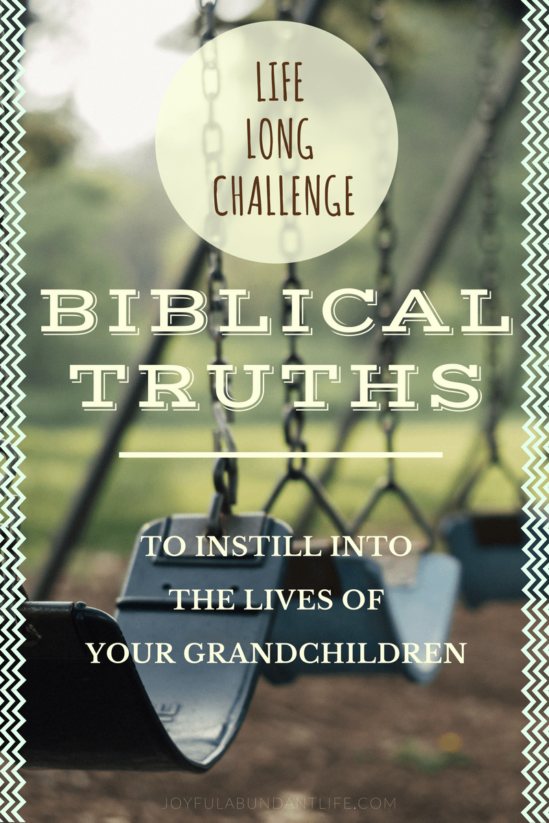 Life Long Challenge Biblical Truths to Instill into the Lives of your Grandchildren