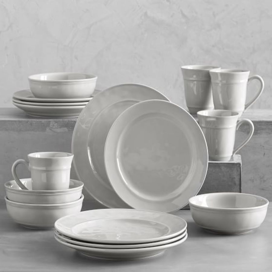 Pottery Barn Grey Cambria Dishes
