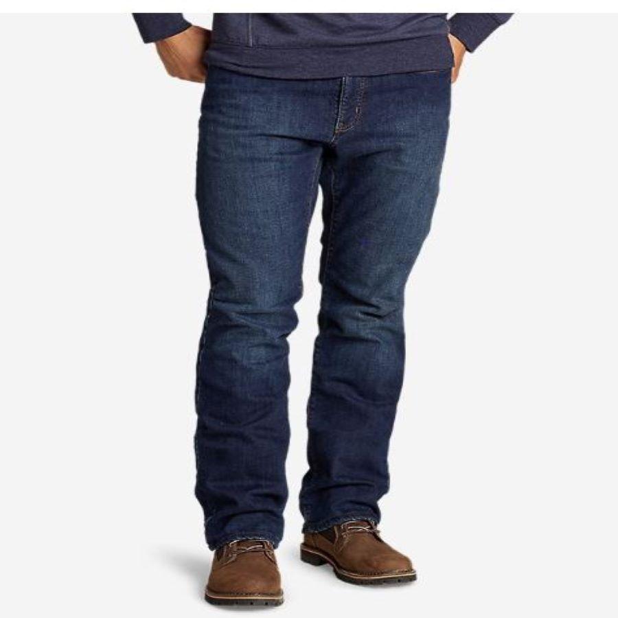 Eddie Bauer Fleece Lined Jeans