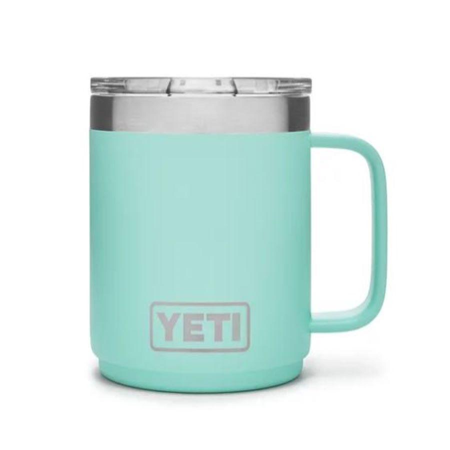 Yeti teal mug