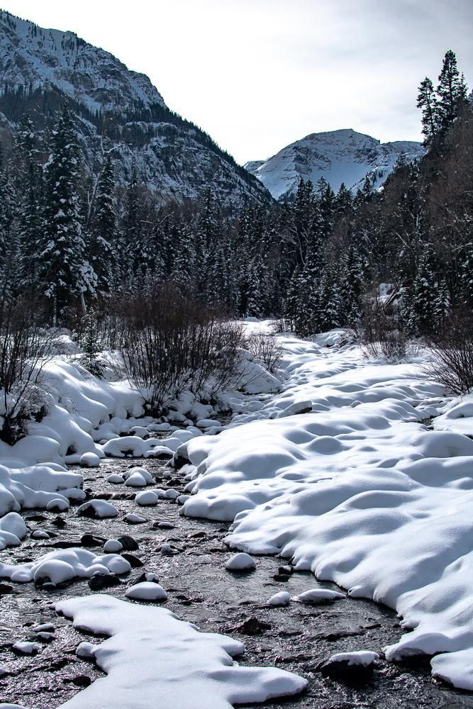 River in Ouray, Colorado