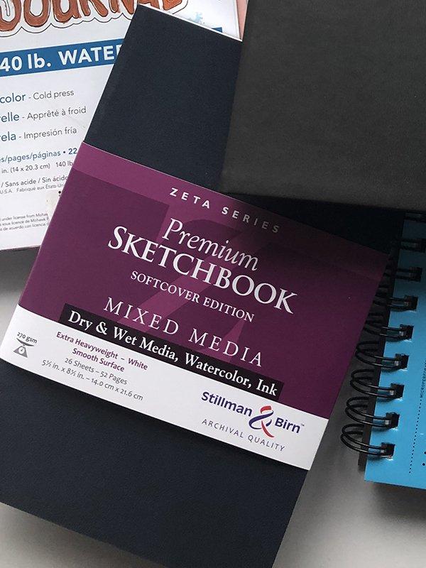 Best Watercolor Sketchbook : watercolor, sketchbook, Journals, Journaling, Joyful