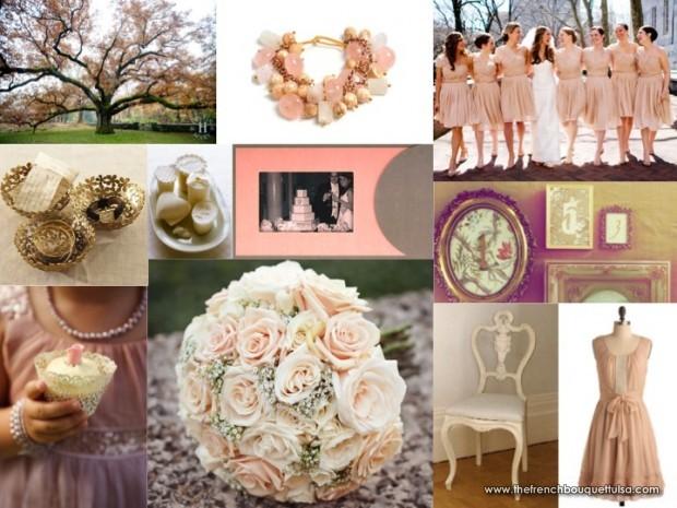 PinkBlush Champagne Fuchsia Wedding Theme  Joyfulbees Blog