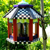 KNOCK OFF MACKENZIE CHILDS BIRD FEEDER