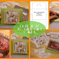 FREE GIFT CARD HOLDER TEMPLATE